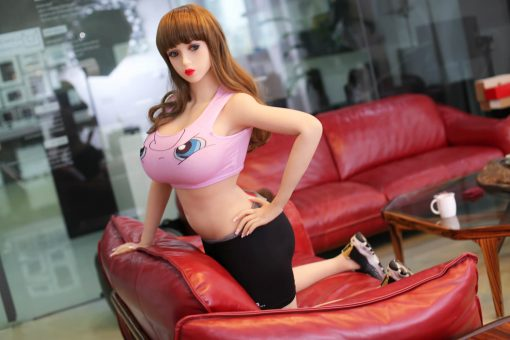 poupée climax doll real love dolls silicone sex doll realiste adulte taille reelle 14 1 510x340 - Sex doll Climax Eve 160 rondelette