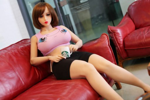 poupée climax doll real love dolls silicone sex doll realiste adulte taille reelle 9 1 510x340 - Sex doll Climax Eve 160 rondelette