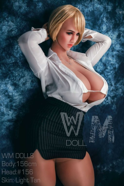 love doll WM 156cm cup M 18 510x765 - Wm doll Claudine 156