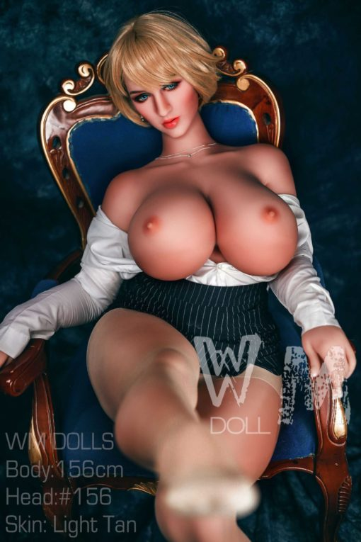 love doll WM 156cm cup M 25 510x765 - Wm doll Claudine 156