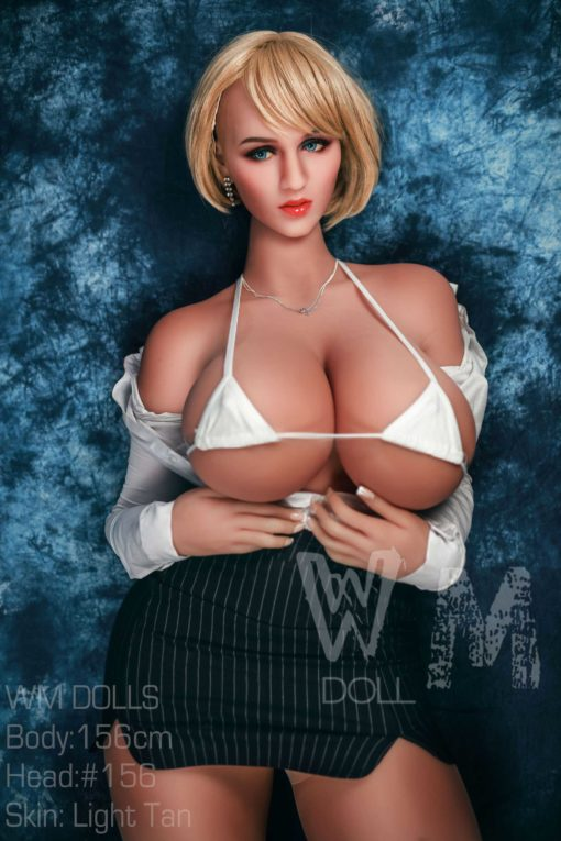 love doll WM 156cm cup M 3 510x765 - Wm doll Claudine 156