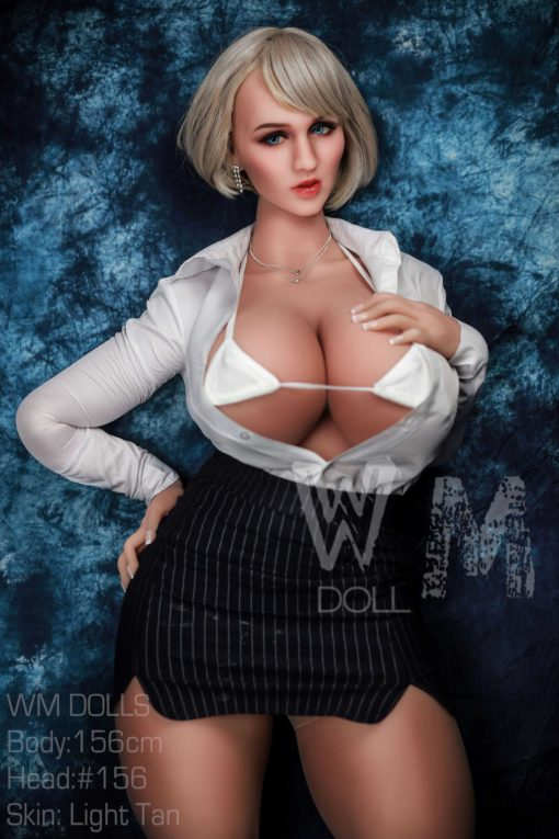 love doll WM 156cm cup M 6 510x765 - Wm doll Claudine 156