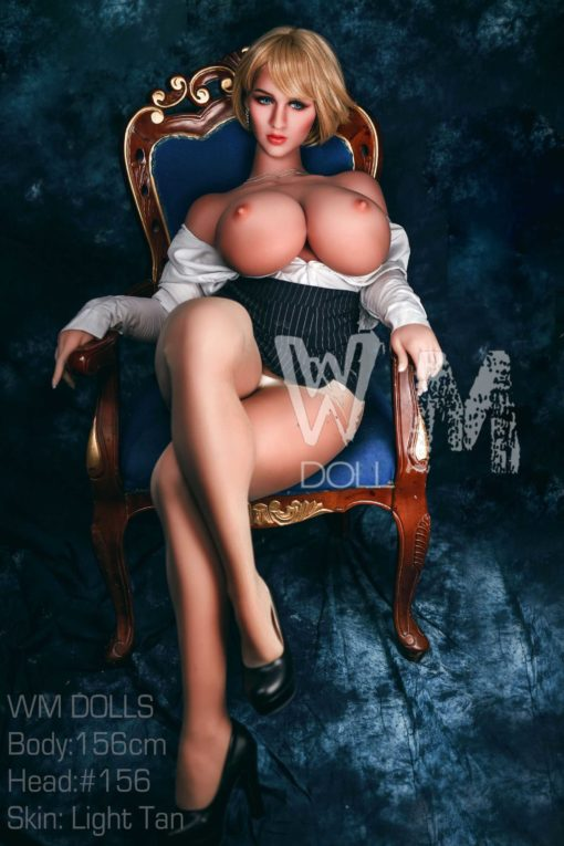 love doll WM 156cm cup M 8 510x765 - Wm doll Claudine 156